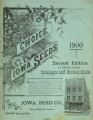 Iowa Seed Company Catalog 1900 Second Edition