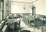 Dining area in Iowa Memorial Union, the University of Iowa, January 1926