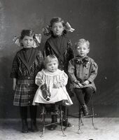 Four children