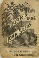 Dorr's Iowa Seeds 1886