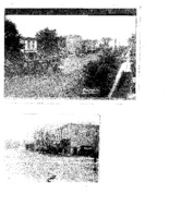 Two views of Beaman Main Street, 1911 and undated
