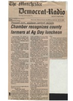 Chamber recognizes county farmers at Ag Day luncheon.