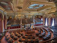 The Iowa Senate Chamber