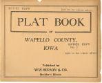Plat book of Wapello County, Iowa