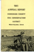 1961 Poweshiek County Soil and Water Conservation District Annual Report