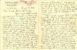 Travel correspondence, 1928-1929