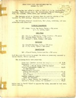 Cedar County Soil Commissioners meeting minutes, 1959 - 1965