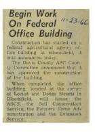 1966 - Begin Work on Federal Office Building