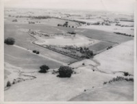 Aerial Photo of Harold Divine's Farm.