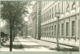Street view of Chemistry Building, the University of Iowa, August 1932