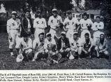 Rose Hill Knights of Pythias Baseball Team, 1940; Mahaska County; Iowa