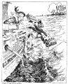 Skipper: Hadn't you better wait till we get a little nearer the dock?