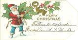 """A merry Christmas,"" 1900s"