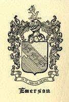 Emerson Bookplate