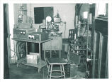 Physics department scientific equipment, The University of Iowa, May 1962