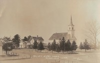 St. Paul Lutheran Church in Garnavillo, Iowa -1908