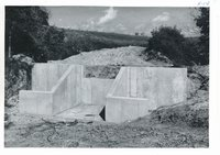 Vince Nemmers drop spillway structure, 1963