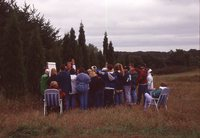 Outdoor Classroom at a Watershed.