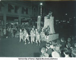 Homecoming parade float, The University of Iowa, 1940