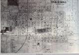 Oskaloosa, IA, 1871 map; Lincoln Township; Mahaska County; Iowa