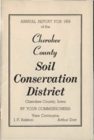 Cherokee County Soil Conservation District Annual Report - 1958