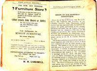 First program booklet for the Fairfield Chautauqua 1904