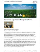 Cover Crops Help Diminish Flood Damage