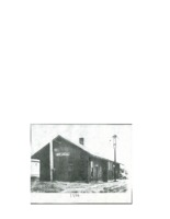 Image of the Beaman Railroad depot, 1940