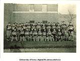 Freshman football team, The University of Iowa, 1935