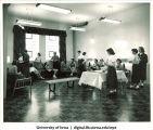Social reception, The University of Iowa, 1930s