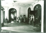 Lobby in Currier Hall, The University of Iowa, 1916