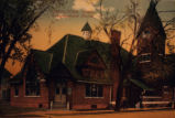 First Congregational Church in Oskaloosa, Iowa, Circa 1900