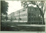 Northern and eastern exterior of Chemistry-Botany-Pharmacy Building, The University of Iowa, 1920s