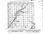 Iowa land survey map of t068n, r032w