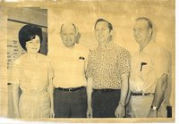 Audrey Wheeler, Paul Bruns, Ted Hall, and Bob Malin