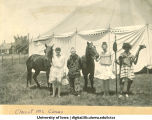 Class of 1902 circus, The University of Iowa, 1902