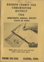 1966 Kossuth County Soil and Water Conservation District Annual Report
