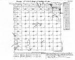 Iowa land survey map of t088n, r029w