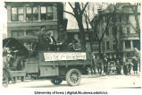 Mecca Day parade, The University of Iowa, 1910s