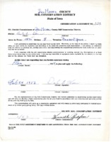 1953 Conservation Agreement
