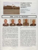 Warren County Soil Conservation District Annual Report - 2006