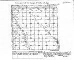 Iowa land survey map of t096n, r013w