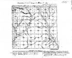 Iowa land survey map of t081n, r039w