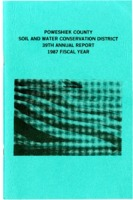 1987 Poweshiek County Soil and Water Conservation District Annual Report