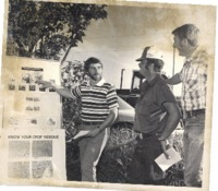 Conservation twilight tour on Burt Dostal and Glen Woods farm, 1978