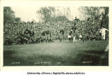 Iowa-Illinois football game at Iowa Field, The University of Iowa, October 21. 1922