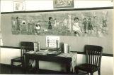 Classroom mural and display, The University of Iowa, February 1931