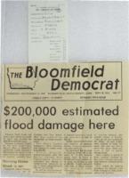 1973 - $200,000 Estimated Flood Damage Here