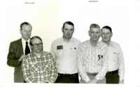Agricultural Stabilization and Conservation Service (ASCS) Members in Cass County, Iowa