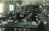 Physics library, The University of Iowa, 1920s